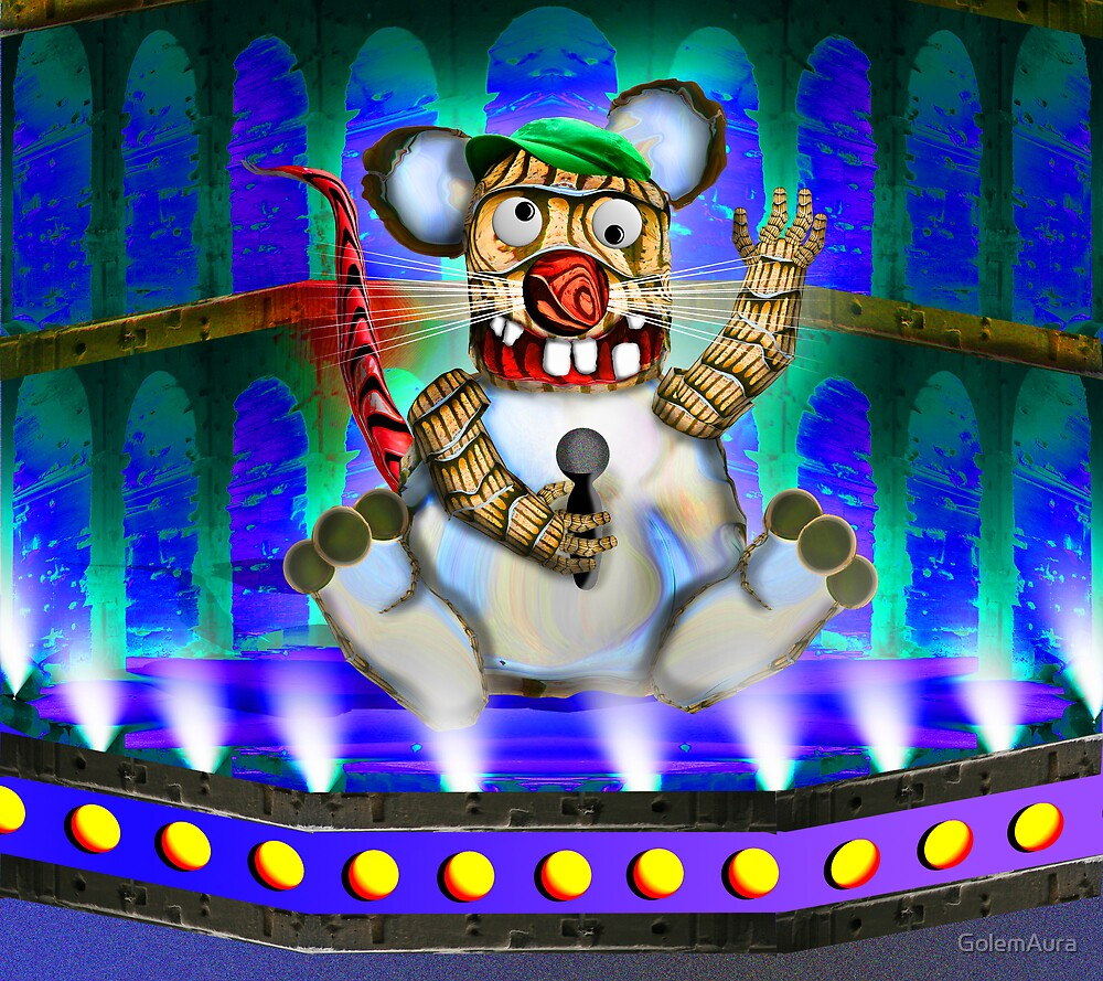 American Rat Idol by GolemAura