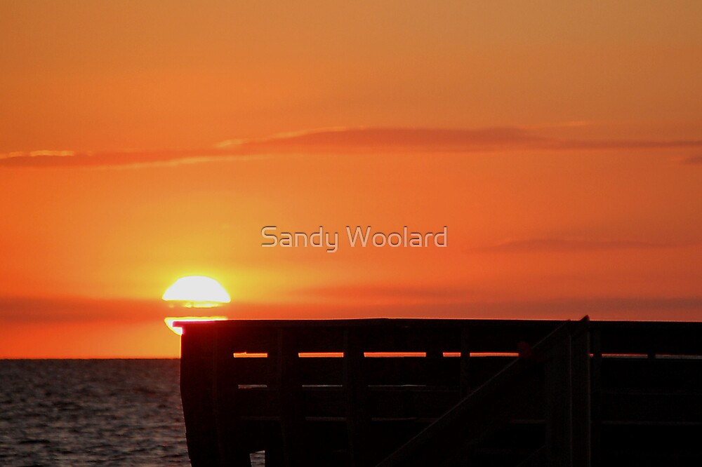 Sunset Glow by Sandy Woolard