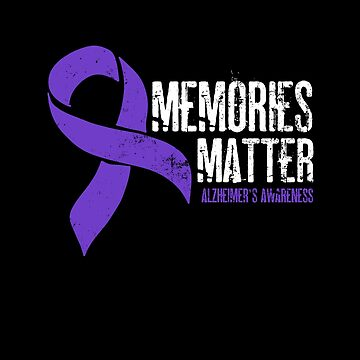Alzheimers Awareness Shirts | Memories Matter Gift by IsiTees