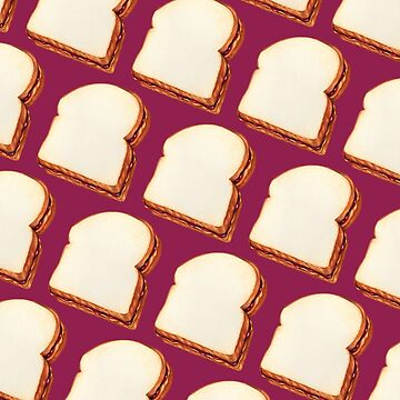 Peanut Butter & Jelly Sandwich Pattern by KellyGilleran