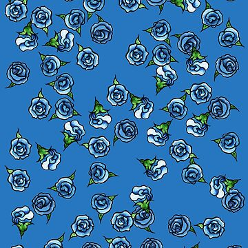 Blue Roses  by Boogiemonst