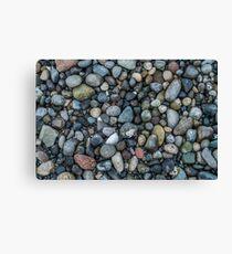 Shoreline Pebbles Closeup Canvas Print