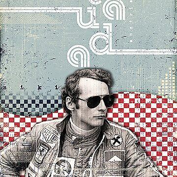 Niki Lauda by rubiohiphop
