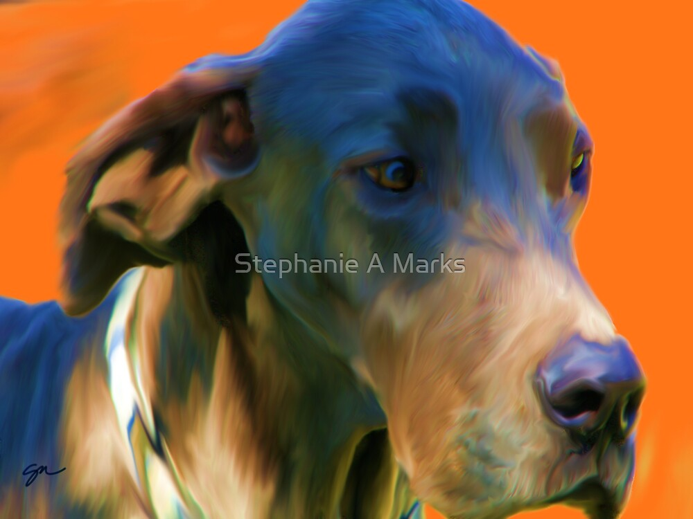 Bubba Blue by Stephanie A Marks