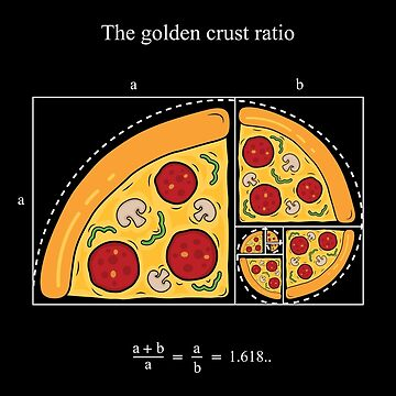 The golden crust ratio by SxedioStudio