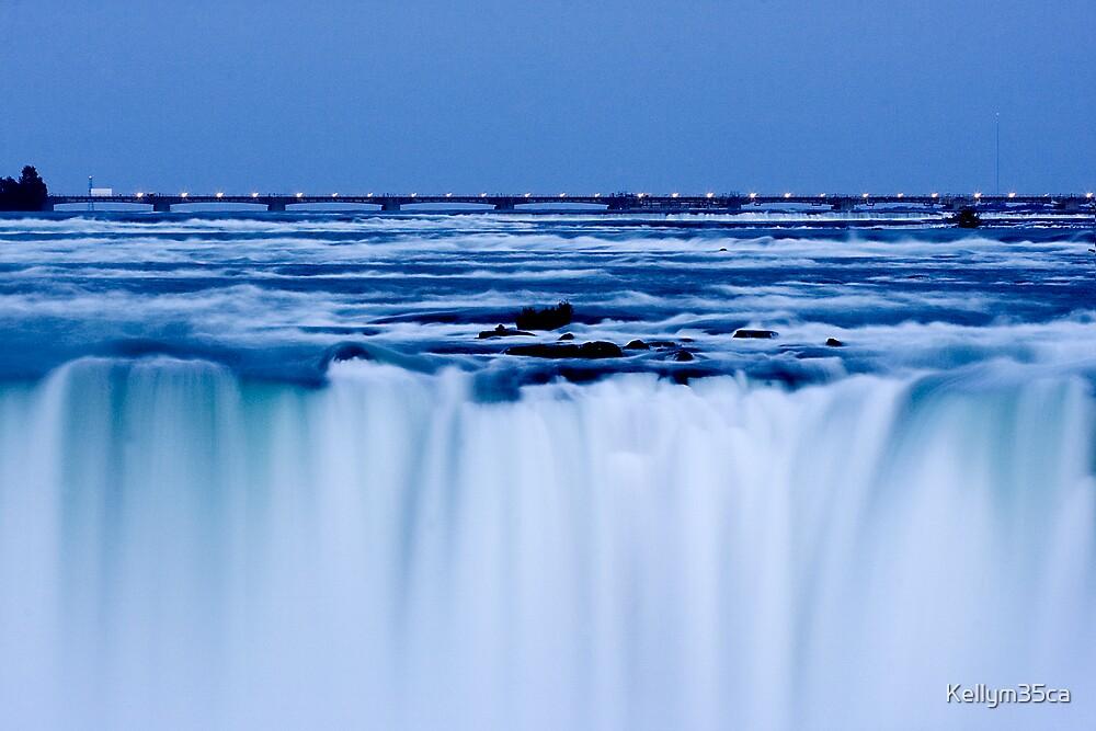 Falls at Dusk by Kellym35ca