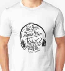 Put your hands up radio! Present Mic! Unisex T-Shirt