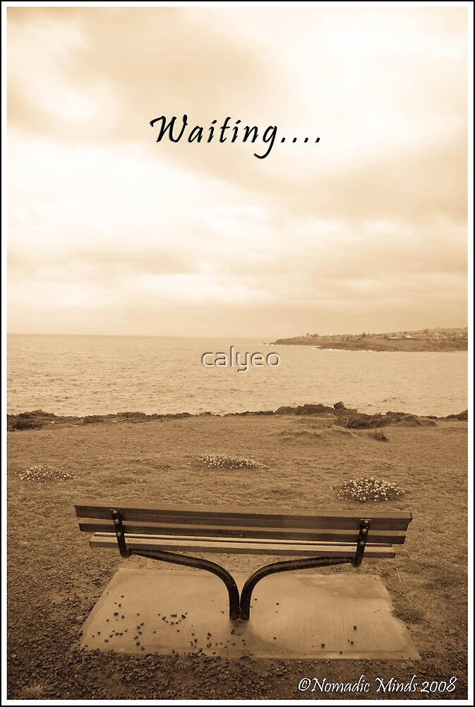waiting.. by calyeo