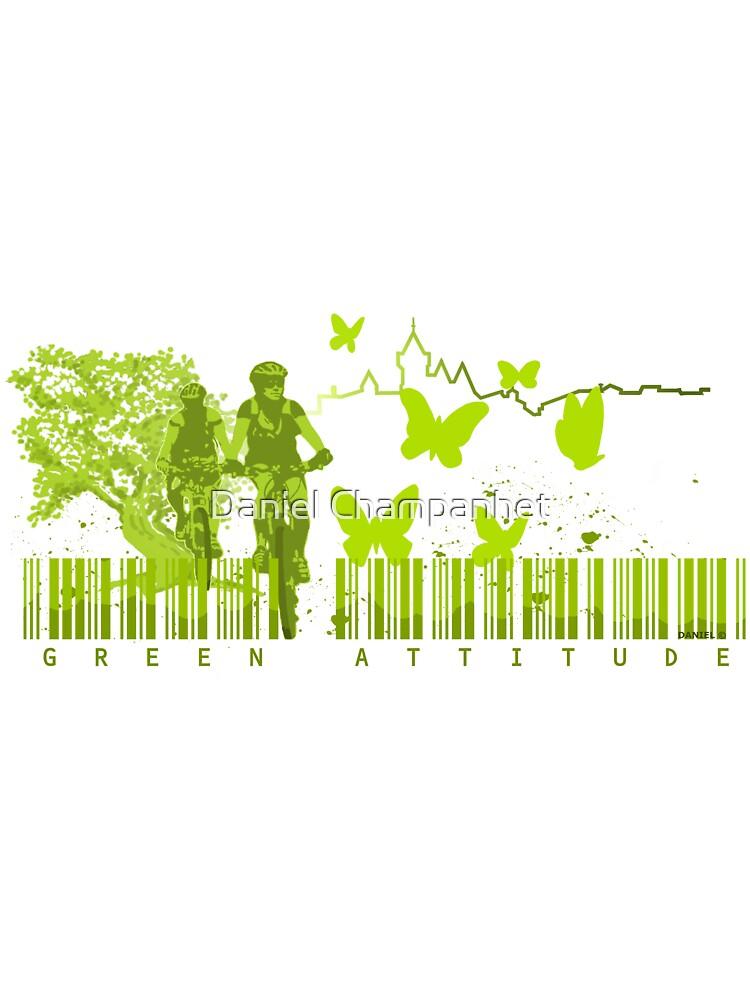The Green Attitude (#2) by Daniel Champanhet