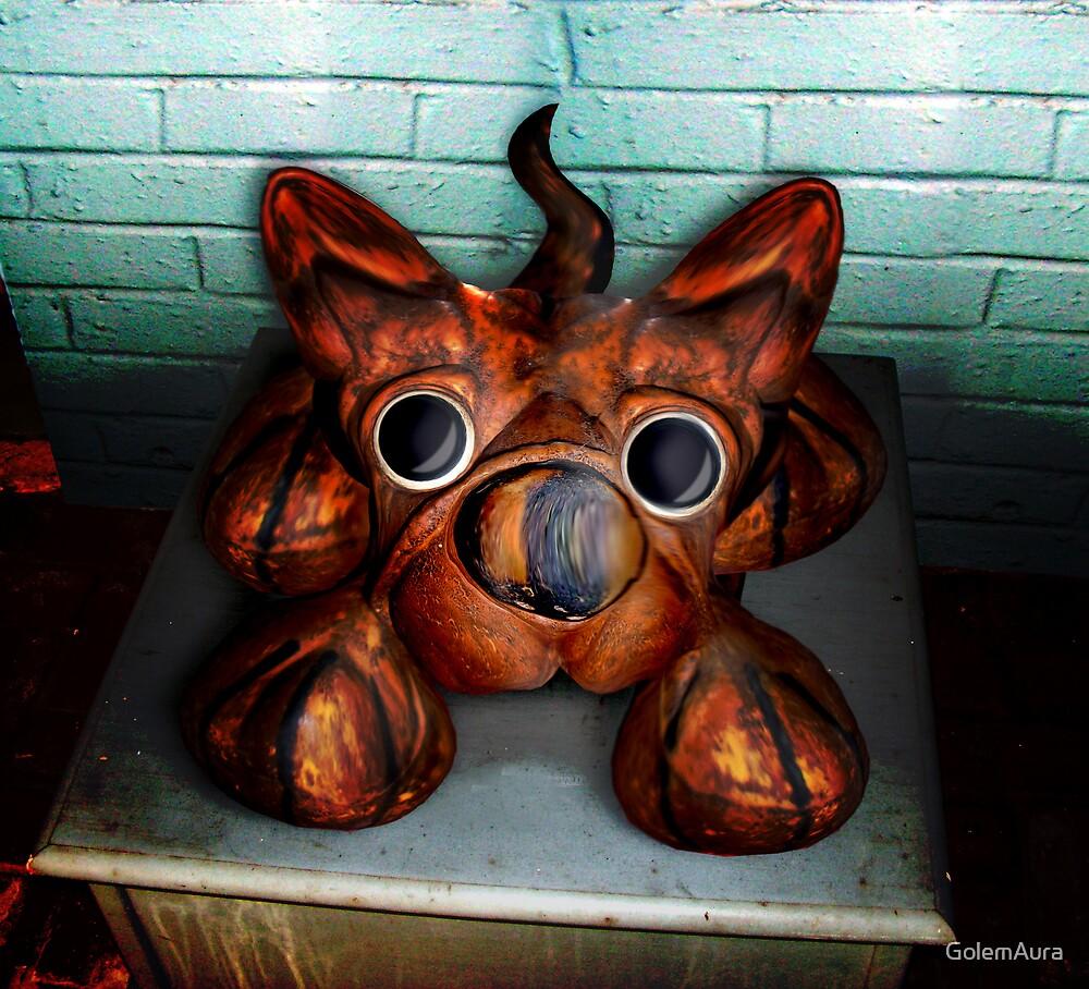Dowry Box Dog by GolemAura