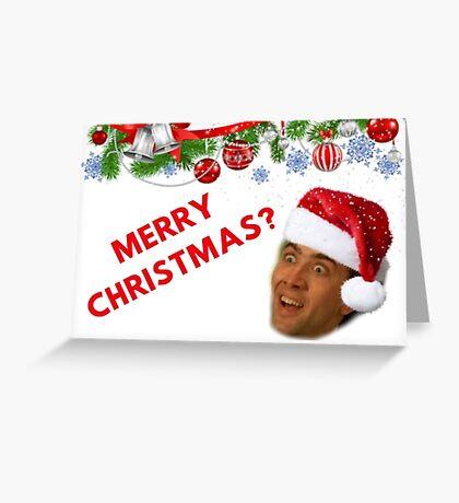 Nicolas Cage, Feliz Navidad, Memes Tarjeta de felicitación
