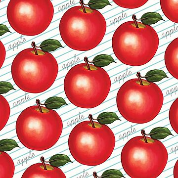 Apple Pattern - Ruled by KellyGilleran