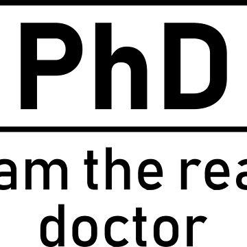 The real PhD by MagdaHanak
