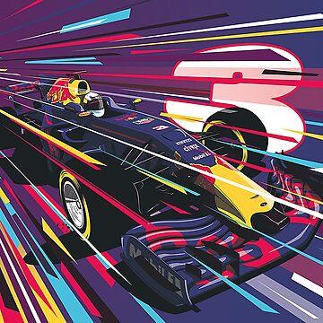 Daniel Ricciardo by rubiohiphop