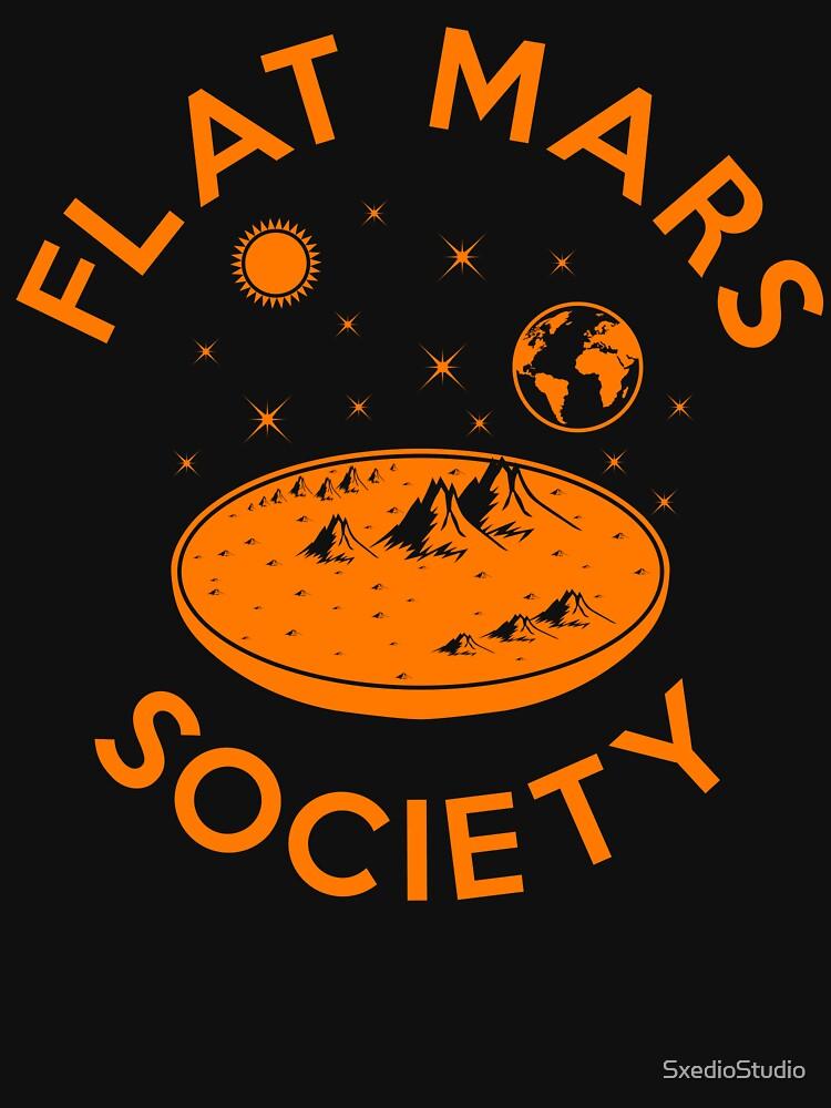 Flache Mars Gesellschaft von SxedioStudio