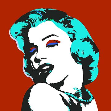 Marylin Vector Art 2 by NoraMohammed