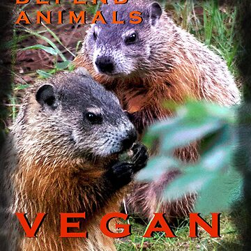 Defend Animals VEGAN by VeganBear