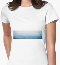Perth, Western Australia from the Air Women's Fitted T-Shirt