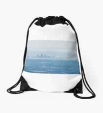 Perth, Western Australia from the Air Drawstring Bag