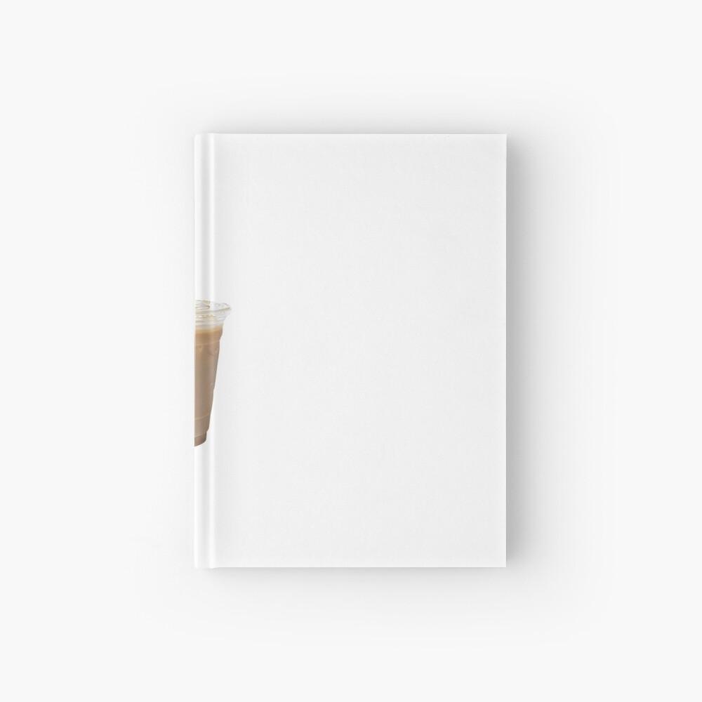 Iced Coffee Hardcover Journal