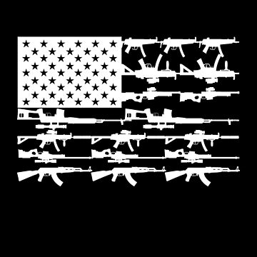 Stars, Stripes and Guns by alhern67
