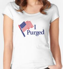 Purge Women's Fitted Scoop T-Shirt
