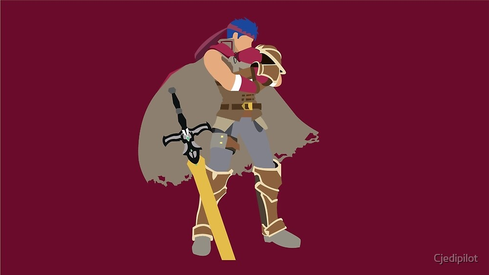 Ike Smash Brothers Micaiah By Royal Blue Redbubble