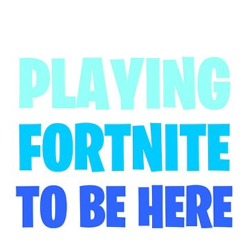 FORTNITE I stopped playing by M1ssBehave