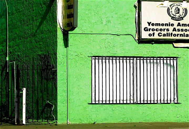 green, yemen by Ted Watson
