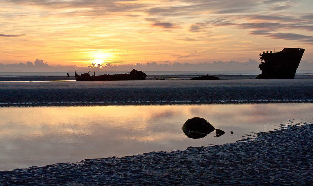 Baltray at sunrise by Janine Branigan