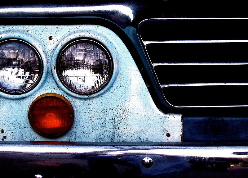 head lights by Ted Watson