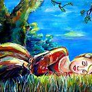 Sleeping beauty by Claude Dia