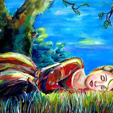 Sleeping beauty by claudiaip