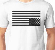 Black On White Unisex T-Shirt