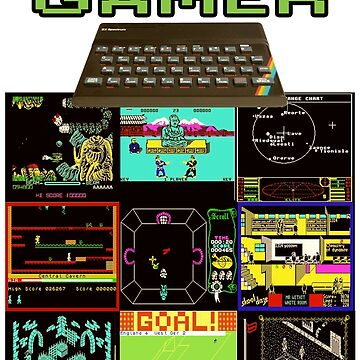 Retro Gamer ZX Spectrum Design by markstones