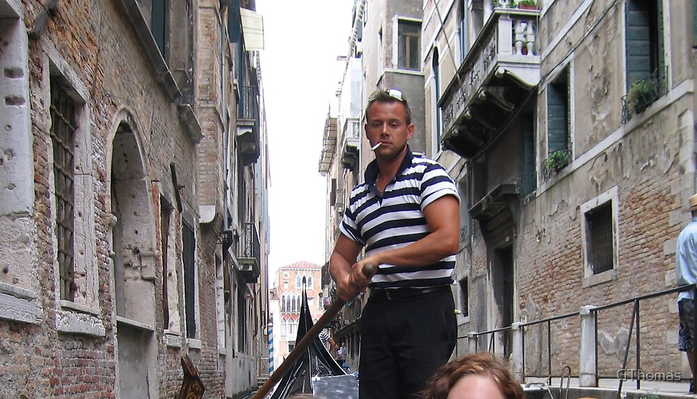 Gondola man by GThomas