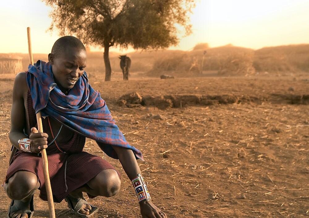 Teaching Masai by citrineblue