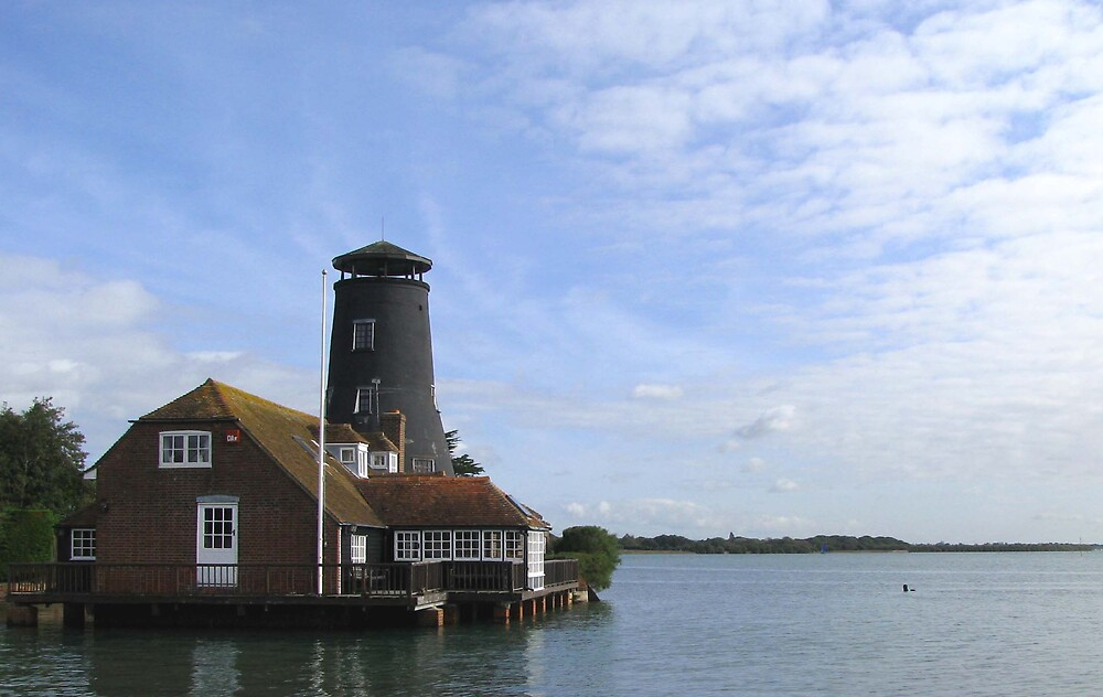 The Mill, Langstone by Caroline Anderson