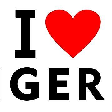 I love Nigeria by tony4urban