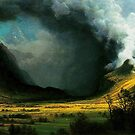 Bierstadt, Storm in the Mountains by edsimoneit