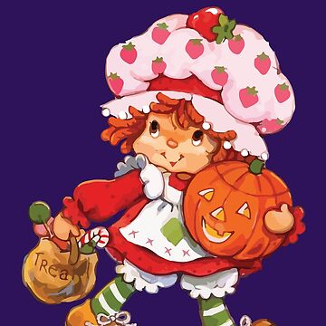 Strawberry Shortcake Retro 80s 1980s Halloween Trick or Treat Costume by neonfuture