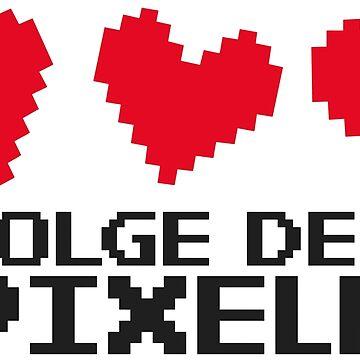 Follow the pixels! Gaming meme shirt by RAWWR
