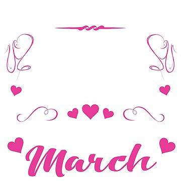 March Birthdays For Women by thepixelgarden