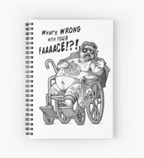 Mr. Plinkett - What's Wrong with Your Face Spiral Notebook