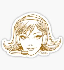 Callgirl Sticker