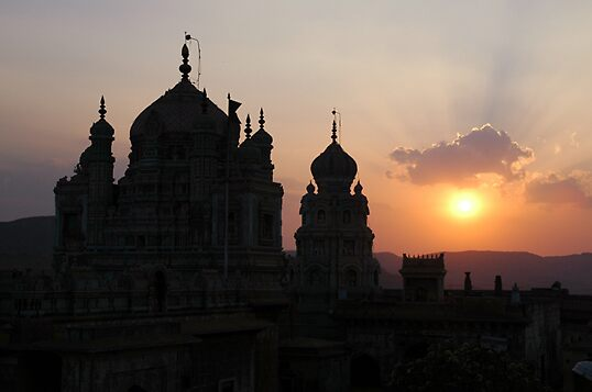 Holy Temple by Sachin Naik