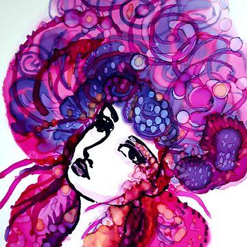 Not so shy Violet by imye