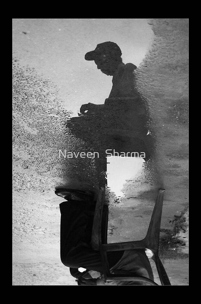 MAN SHADOW by Naveen  Sharma