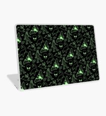 Cryptid Pattern (Green Lines) Laptop Skin
