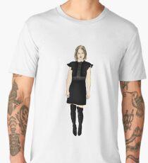 Jennifer Morrison Drawing Men's Premium T-Shirt